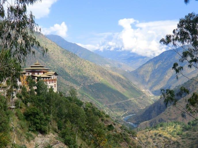 Dzong in Trashigang