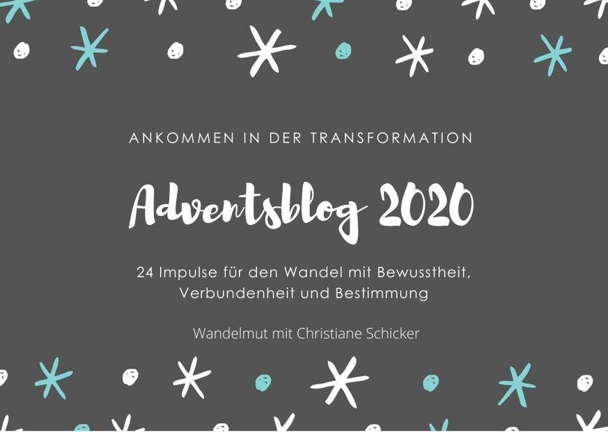 Adventsblog 2020 Christiane Schicker